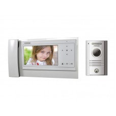 COMMAX Zestaw wideodomofonowy CDV-70KPT WHITE / DRC-40KPT