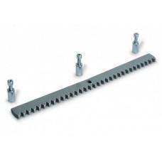 Came Listwa zębata metalowa ocynkowana z łączeniami pomiędzy listwami (30x8mm, Moduł 4)